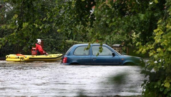 فيضانات شمال انجلترا