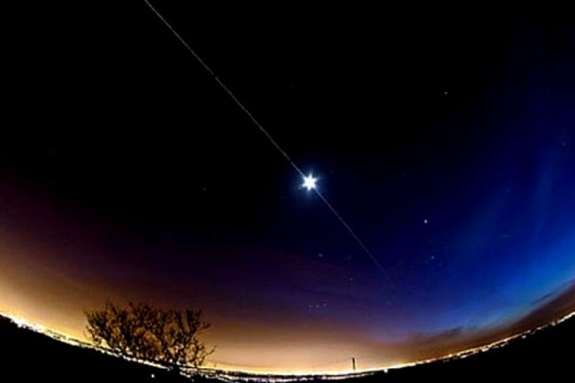 محطة الفضاء الدولية تعبر سماء فلسطين الليلة