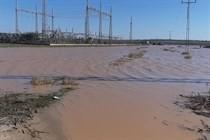 الاحتلال يفتح سدود مياه الامطار على غزة