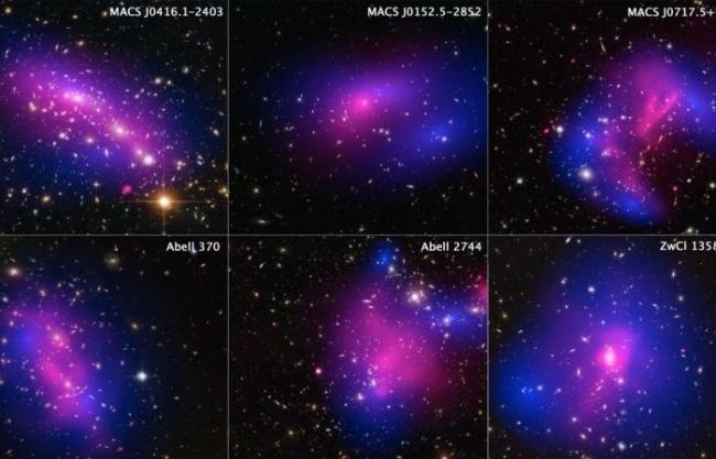 العلماء يحدّدون أين تختفي المادة المظلمة في الكون