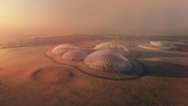 بالصور.. مشروع مدينة الفضاء الأولى بالعالم