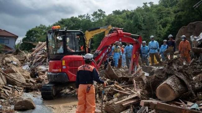 حصيلة ضحايا الأمطار المدمرة في اليابان تتجاوز الـ100 شخص وعشرات المفقودين