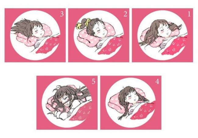 وضعية شعرك أثناء النوم تكشف أسرار شخصيتك