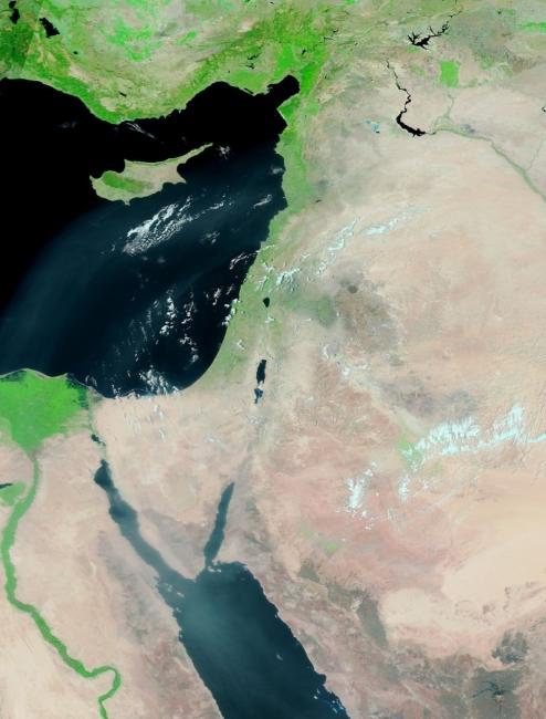 الأقمار الصناعية تظهر استقرار الطقس في ربوع المنطقة | 11/7/2017
