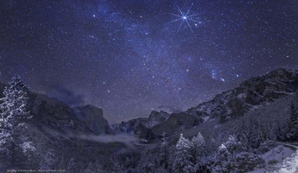 ليلة يوزيميت الشتوية