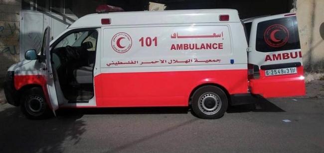 سقوط رافعة على عمال في رام الله وإصابات بينها خطيرة