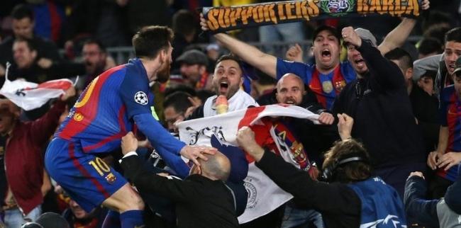 """لن تصدق.. هدف برشلونة السادس تسبب في """"زلزال"""" بكتالونيا"""