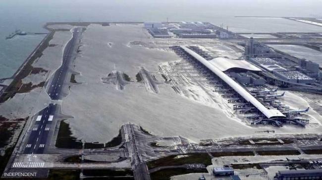 من السفن إلى الطائرات.. الكارثة اليابانية في 5 صور مفزعة