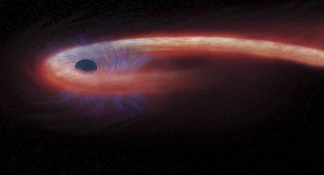 العلماء يطلقون اسما إسطوريا على الثقب الأسود الذي تم تصويره