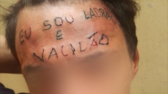 بالفيديو...أغرب طريقة مهينة لمعاقبة لص في البرازيل!