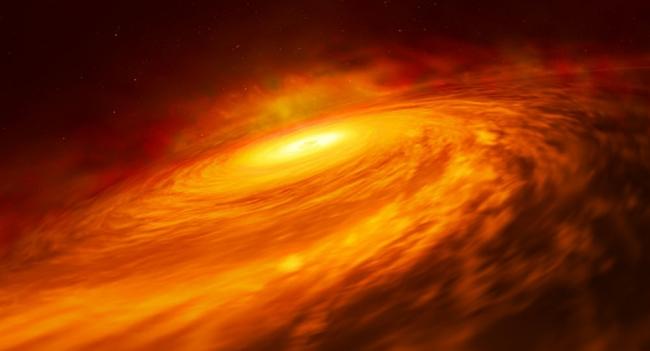 """العلماء يجدون الثقب الأسود """"الغير المعقول"""" في مجرة قريبة"""