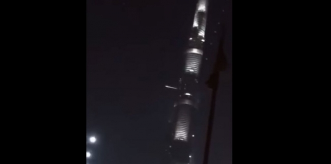 الإمارات تكشف تفاصيل الجسم المحترق الذي مر فوق دول خليجية
