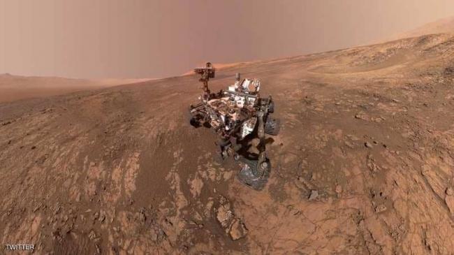 """ناسا تحول """"سيلفي"""" إلى صورة غير مسبوقة للمريخ"""