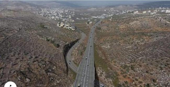 مصادر صحفية ..الاحتلال يصادق على شق طريق قرب حوارة جنوب نابلس