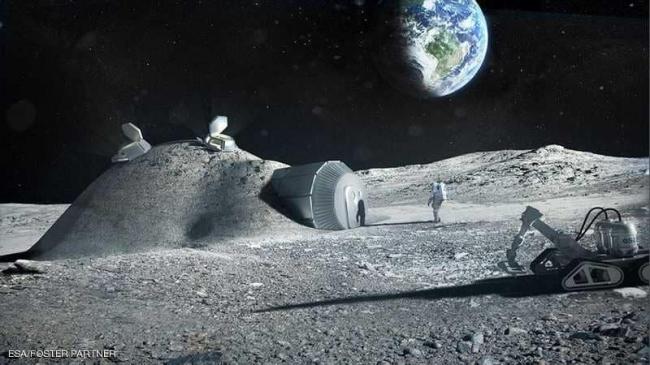 """خطط أوروبية لإنشاء """"منجم"""" على سطح القمر"""