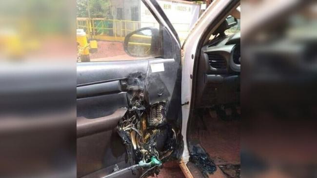 حادثة مروعة تكشف لماذا لا ينبغي ترك معقمات الأيدي في السيارة