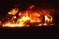 الشرطة تكشف ملابسات حرق مركبات في نابلس