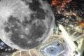 غدا.. تعامد القمر فوق الكعبة المشرفة