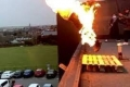فيديو يحبس الأنفاس يوثّق تجربة خطيرة لممثل فرنسي.. قفز من مبنى عالٍ وألسنة النار تلتهم ...