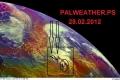 المنخفض العميق يقترب جداً من سواحل فلسطين....والأمطار الشاملة متوقعة خلال الساعات القليلة القادمة بمشيئة الله ...