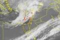 الأقمار الصناعية ترصد تشكل المنخفض الجوي المميز شرق البحر المتوسط