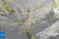"""الأقمار الصناعية تظهر غيوم منخفض """"إكسال"""" في حوض شرق المتوسط"""