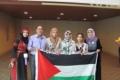 طالبة فلسطينية من نابلس تحتل المركز الرابع في معرض إنتل بولاية ارزونا