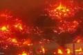 """بالفيديو.. حريق هائل يلتهم مخازن عملاقة لـ""""أمازون"""""""