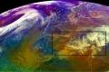 عاصفة ثلجية تجتاح اجزاء واسعة من وسط وغرب البحر الأبيض المتوسط