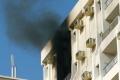 مصرع فلسطيني وطفلته في حريق شقة بأبو ظبي