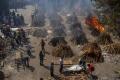محارق الجثث في الهند مكتظة مع اشتداد جائحة كورونا