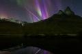 صورة رائعة جداً للشفق القطبي في النرويج