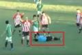 بالفيديو... لاعب كرة قدم يقتل حكما بلكمة قاضية احتجاجا على طرده