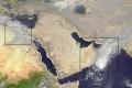 فلسطين وغرب اسيا عبر الأقمار الصناعية اليوم