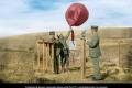 صورة نادرة لمختصين ألمان في تركيا عام 1915 أثناء إطلاق بالون الطقس