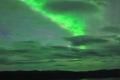 صورة رائعة جداً للشفق القطبي في السويد