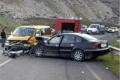 حادث سير كبير يسفر عن 12 اصابة على طريق واد النار امس
