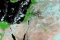 الغطاء الأخضر في فلسطين يظهر من الأقمار الصناعية