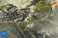 الأقمار الصناعية ترصد بدء تأثير منخفض كابول على أجواء بلاد الشام صبيحة هذا اليوم 10 ...