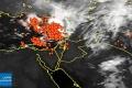 الأقمار الصناعية تظهر كثافة كبيرة للسحب الرعدية قبالة سواحل بلاد الشام | 15/11/2014