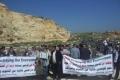 اسرائيل تحول محجراً مهجوراً لمكب نفايات غرب مدينة نابلس