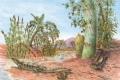 الزواحف أول من سكن الأرض قبل اكثر من 300 مليون عام