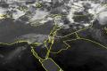 عاجل:بداية تساقط الامطار على بعض المناطق شمال البلاد
