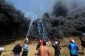 مقاومة الكاوتشوك في غزة ...خطوة لفضح دفاع إسرائيل المزعوم عن البيئة!