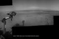 ما الذي نراه على الأفق؟ في المريخ ؟