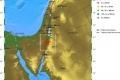 هزة أرضية خفيفة ضربت منطقة البحر الميت فجر يوم أمس الأربعاء