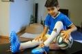 بالفيديو... يوفنتوس يضم طفلاً فلسطينياً في العاشرة من عمره!
