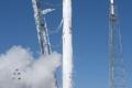 بالفيديو... هل سبق وشاهدتم صاروخا يقلع ويتوقف في الهواء ويرجع إلى مكانه!