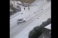 سيارات تنزلق وتتحطم وسط انخفاض درجات الحرارة في أنقرة... بالفيديو