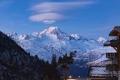 """قمة جبل """"مون بلان"""" في الألب تتقلص بحجم بمتر"""